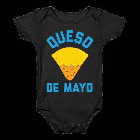 Queso De Mayo Baby Onesy
