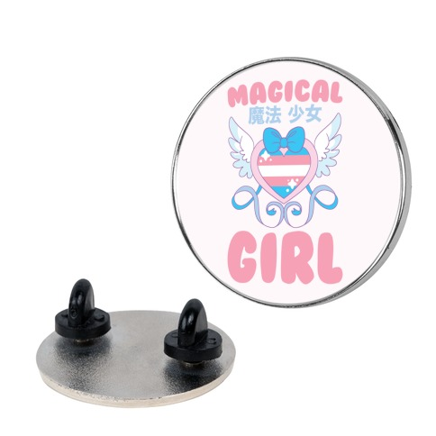 Magical Girl - Trans Pride Pin