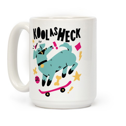 Kool as Heck Doggo Coffee Mug