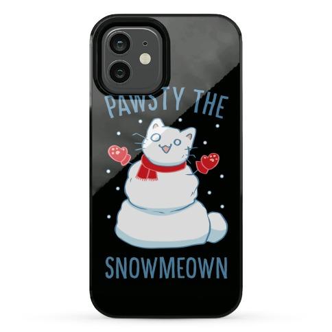 Pawsty The Snowmeown Phone Case