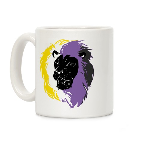 Non-binary Lion Pride Coffee Mug