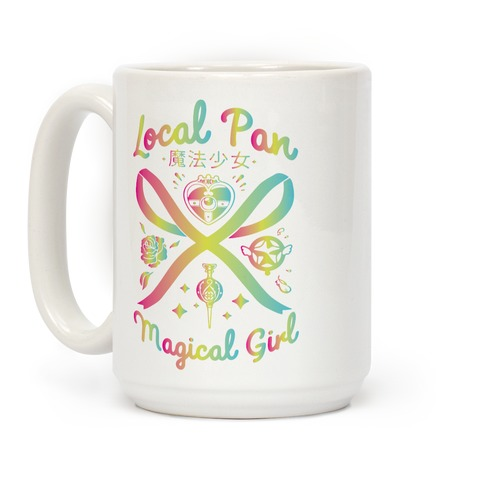 Local Pan Magical Girl Coffee Mug