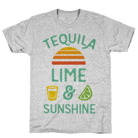 Tequila Lime And Sunshine T-Shirt