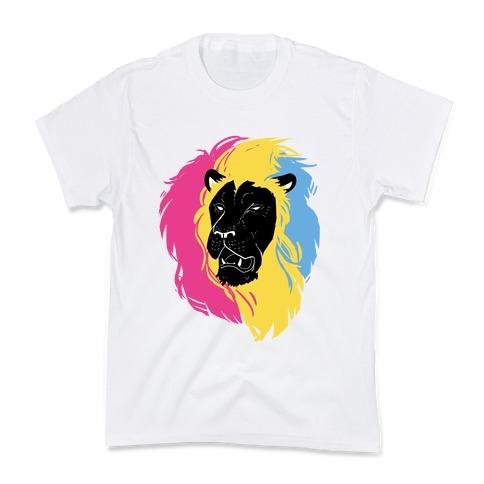 Pan Lion Pride Kids T-Shirt