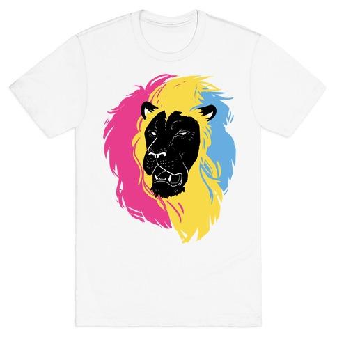 Pan Lion Pride Mens/Unisex T-Shirt