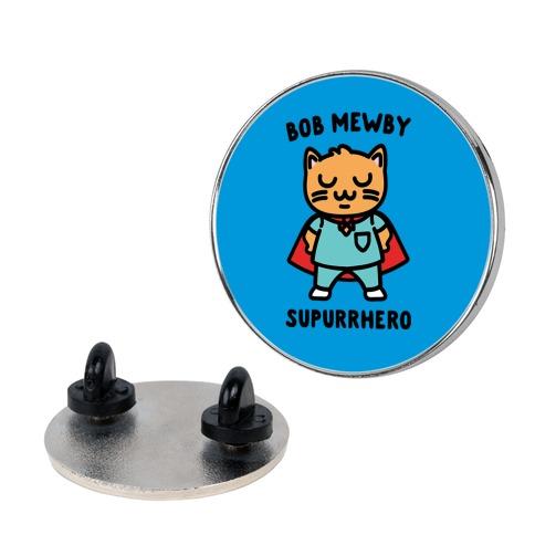 Bob Mewby Parody pin