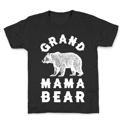 Grandmama Bear Kids T-Shirt