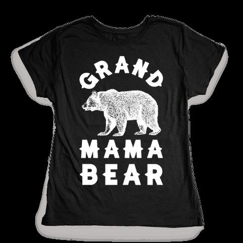 Grandmama Bear Womens T-Shirt