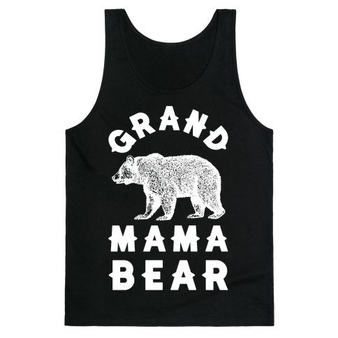 Grandmama Bear Tank Top