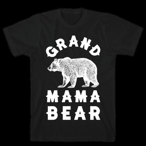 Grandmama Bear Mens T-Shirt