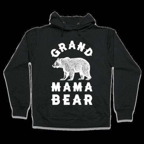 Grandmama Bear Hooded Sweatshirt