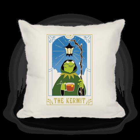 The Kermit Tarot Card Pillow