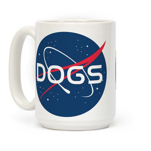 Dogs Nasa Parody Coffee Mug