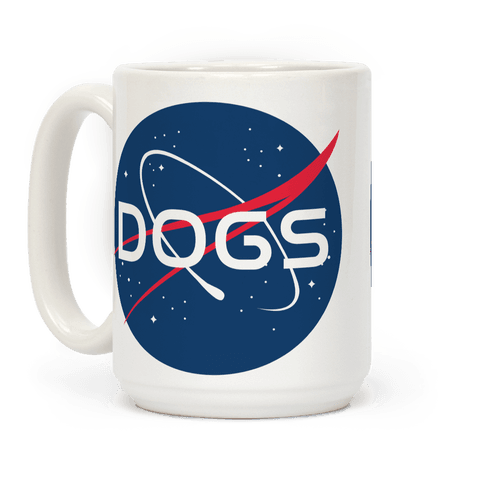 Dogs Nasa Parody Coffee Mug