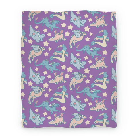 Dreamy Dragon Pattern Blanket