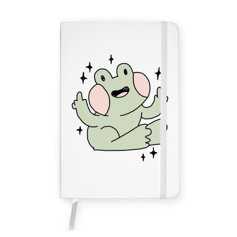 Flicky Frog  Notebook
