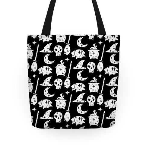 Sparkle Witch Pattern Tote