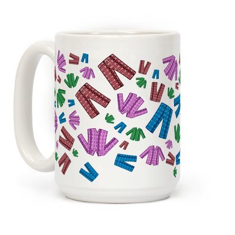 Pajamas Pattern Coffee Mug