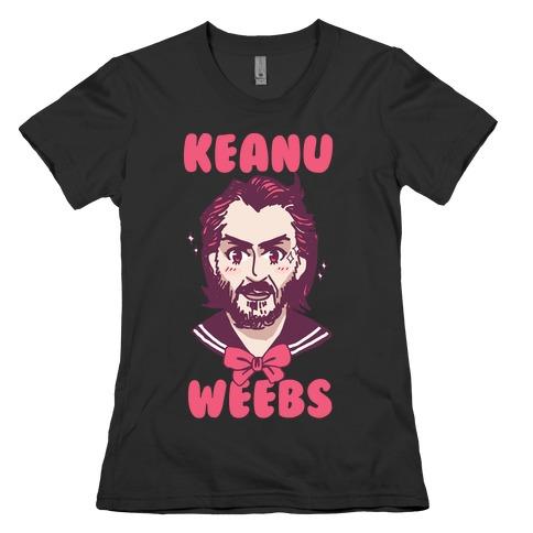 Keanu Weebs Womens T-Shirt