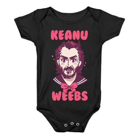 Keanu Weebs Baby Onesy