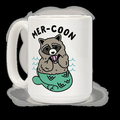 Mer-Coon Coffee Mug