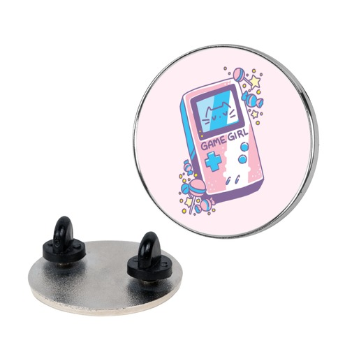 Game Girl - Trans Pride Pin
