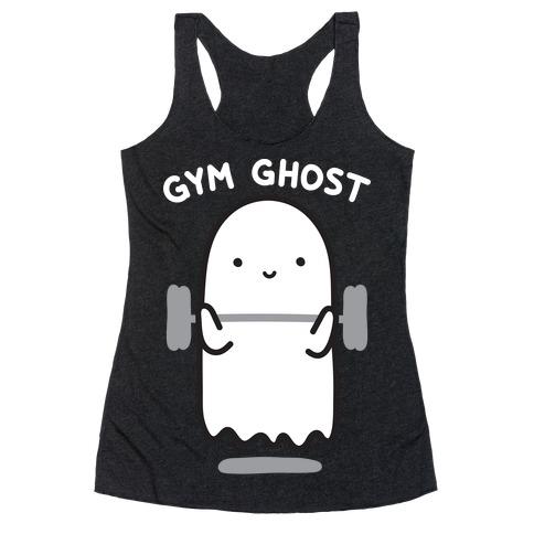 Gym Ghost Racerback Tank Top