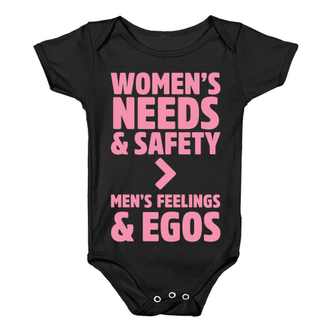 Women's Needs and Safety Baby Onesy