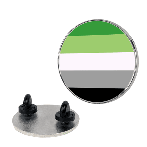 Aromantic Pride Flag pin