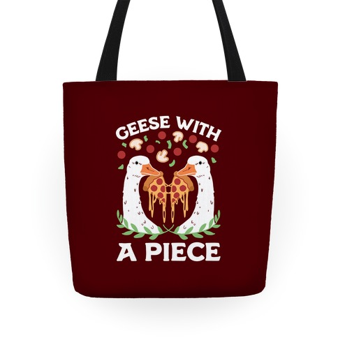 Geese With A Piece Tote