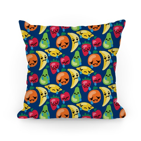 Fruity and Emotional Pattern Pillow