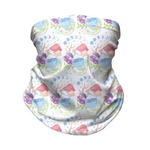 Witchy Pastel Things Neck Gaiter