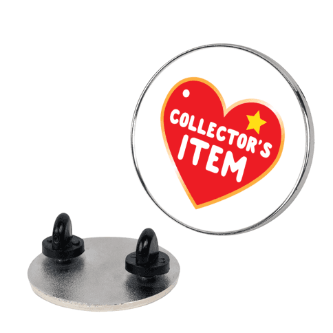 Collector's Item Toy Parody Pin