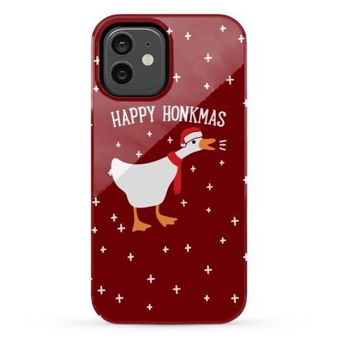 Happy Honkmas Goose Phone Case
