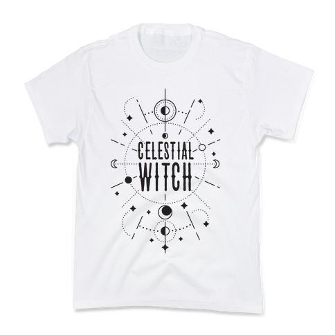 Celestial Witch Kids T-Shirt