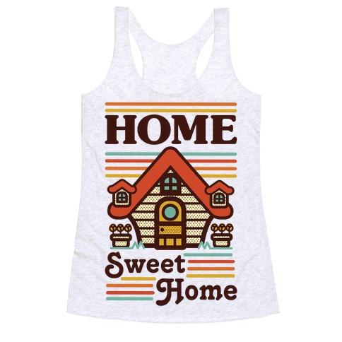 Home Sweet Home Animal Crossing Racerback Tank Top