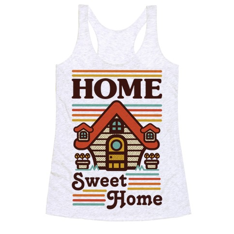 Home Sweet Home Animal Crossing Racerback Tank Top