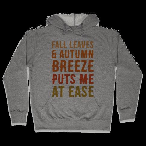 Fall Leaves & Autumn Breeze  Hooded Sweatshirt