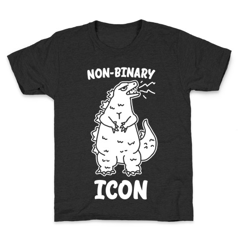 Non-Binary Icon Kids T-Shirt