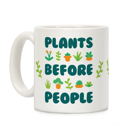 Plants Before People Coffee Mug