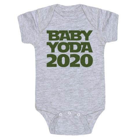 Baby Yoda 2020 Parody Baby Onesy