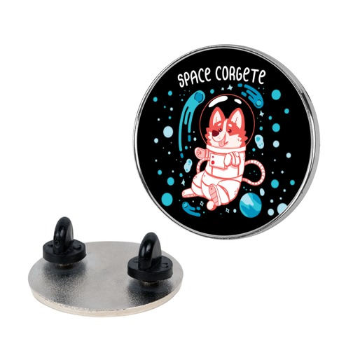 Space Corgete Pin