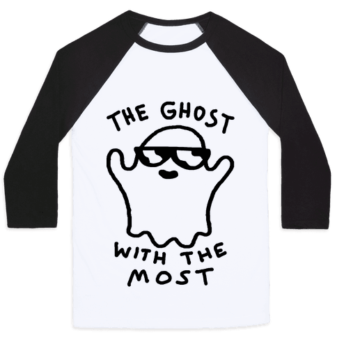 The Ghost With The Most Baseball Tee