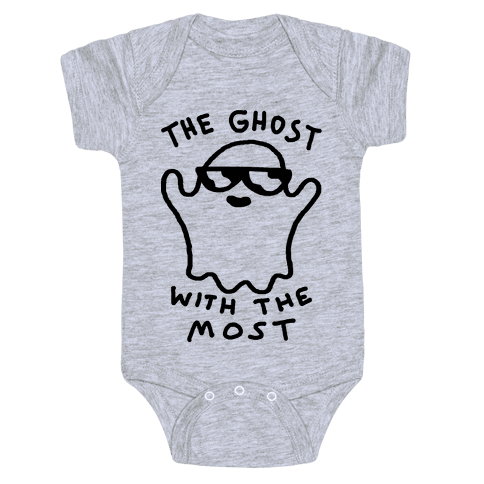 The Ghost With The Most Baby Onesy