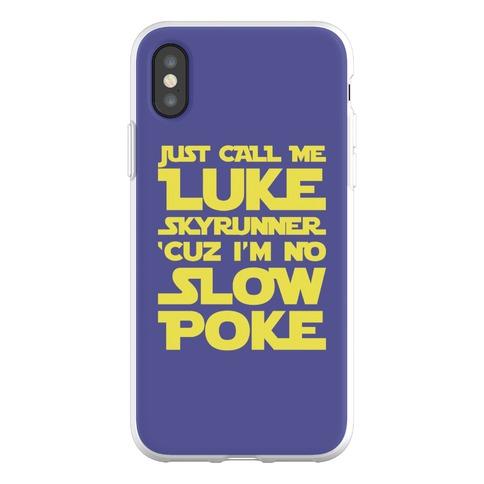 Just Call Me Luke Skyrunner Parody Phone Flexi-Case
