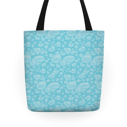 Subtle Bubble Pattern Tote