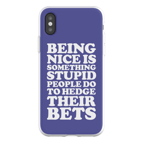 Hedge Their Bets Phone Flexi-Case