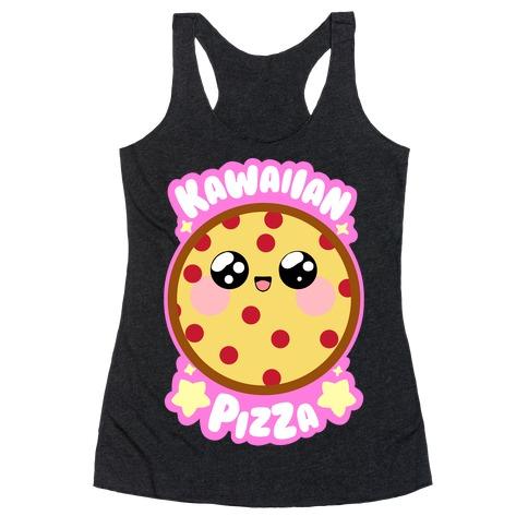 Kawaiian Pizza Racerback Tank Top