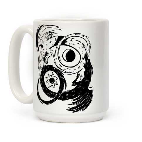 Dark-Light Ouroboros Coffee Mug
