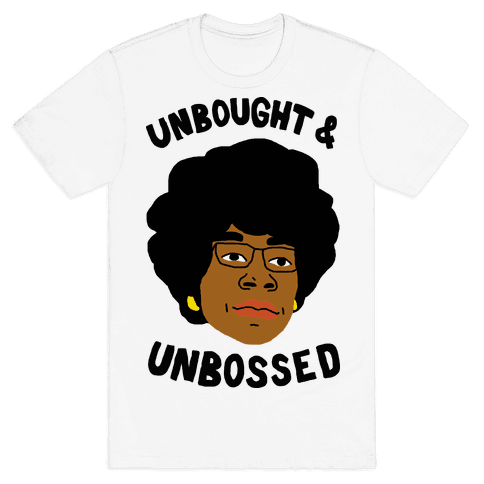 Unbought And Unbossed Mens T-Shirt